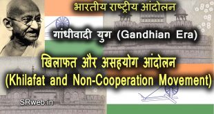 खिलाफत और असहयोग आंदोलन Khilafat and Non-Cooperation Movement