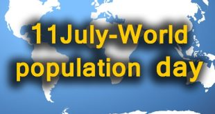 11 July World population day