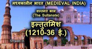 इल्तुतमिश (1210-36 ई.)गुलाम वंश | दिल्ली सल्तनत |Iltutmish in Hindi
