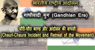 Chauri-Chaura Incident and Retreat of the Movement चौरी-चौरा काण्ड और आंदोलन की वापसी