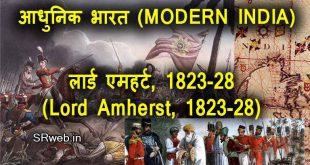 लार्ड एमहर्स्ट, 1823-28 (Lord Amherst, 1823-28) आधुनिक भारत (MODERN INDIA)