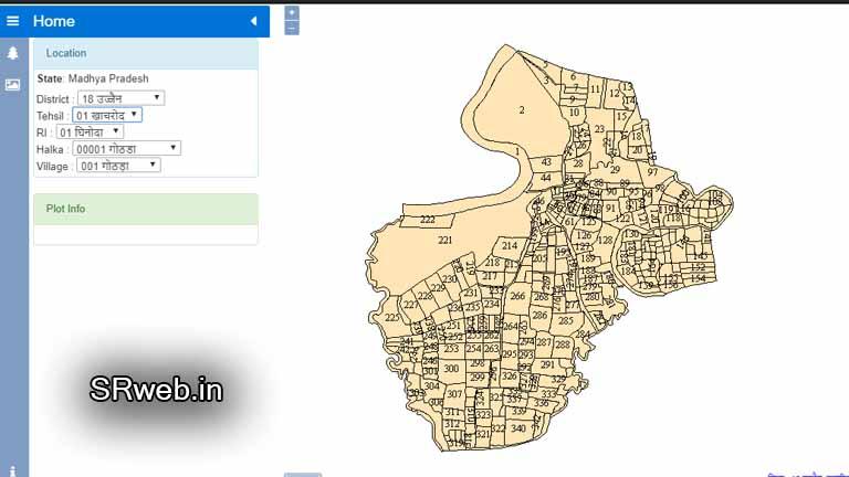 MP Bhu Naksha 2019 ऑनलाइन खसरा खतौनी किश्तबन्दी भूलेख नक्शा